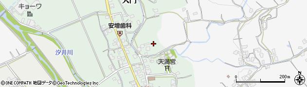 福岡県糸島市大門周辺の地図