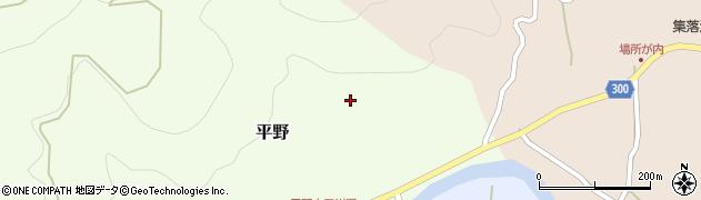 高知県高岡郡佐川町平野周辺の地図