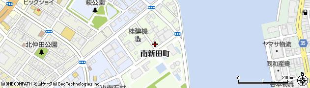 高知県高知市南新田町周辺の地図