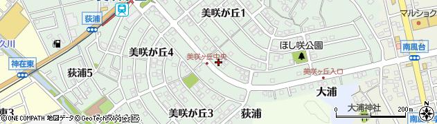 福岡県糸島市美咲が丘周辺の地図