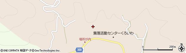 高知県高岡郡佐川町黒原場所ケ内周辺の地図