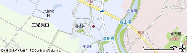 大分県中津市加来6周辺の地図