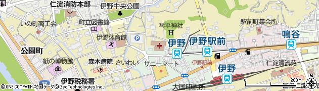 高知県吾川郡いの町周辺の地図