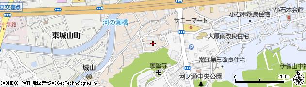 高知県高知市河ノ瀬町周辺の地図