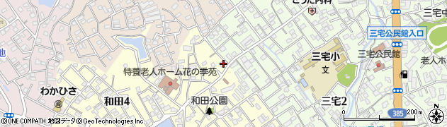 大橋米穀店周辺の地図