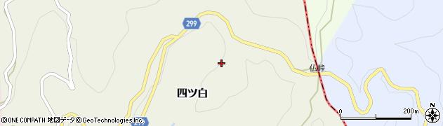 高知県高岡郡佐川町四ツ白1090周辺の地図