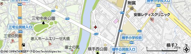 聖教新聞横手販売店周辺の地図