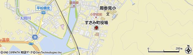 和歌山県すさみ町(西牟婁郡)周辺の地図
