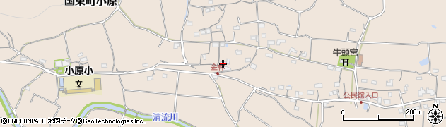 大分県国東市国東町小原1286周辺の地図