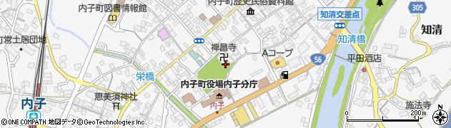 禅昌寺周辺の地図