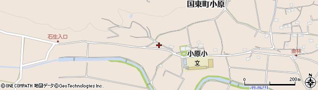 大分県国東市国東町小原1424周辺の地図