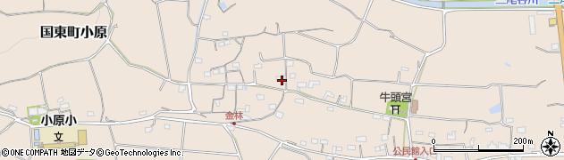 大分県国東市国東町小原1200周辺の地図