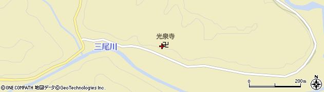光泉寺周辺の地図