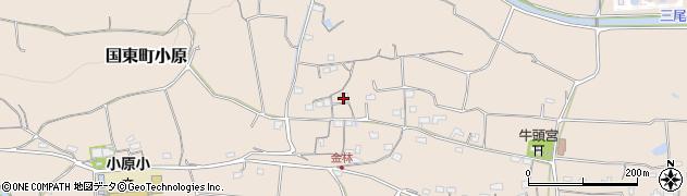 大分県国東市国東町小原1224周辺の地図
