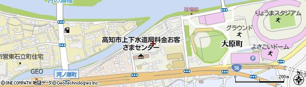 高知県高知市大原町周辺の地図