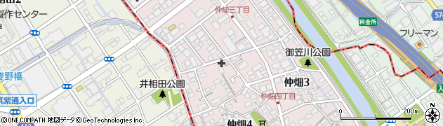 リンクユーツー周辺の地図