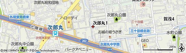 福岡県福岡市早良区次郎丸1丁目 住所一覧から地図を検索 ...