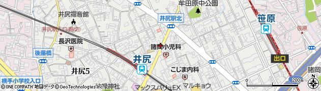 福岡県福岡市南区井尻周辺の地図
