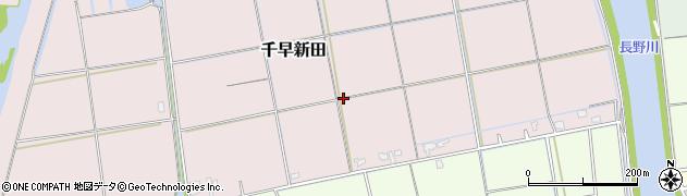 福岡県糸島市千早新田周辺の地図