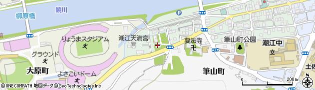 眞如寺周辺の地図
