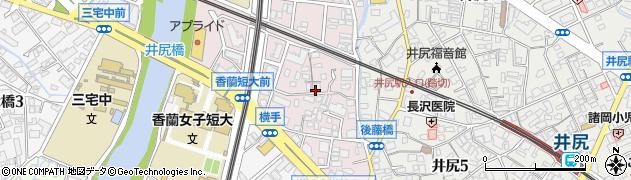 福岡県福岡市南区折立町周辺の地図