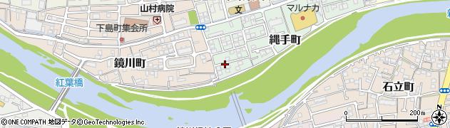高知県高知市縄手町周辺の地図