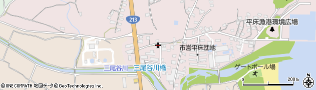 大分県国東市国東町鶴川1615周辺の地図