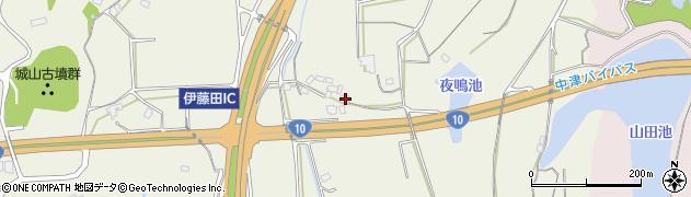 大分県中津市伊藤田1555周辺の地図