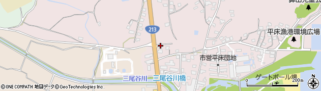 大分県国東市国東町鶴川1664周辺の地図