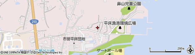 大分県国東市国東町鶴川966周辺の地図