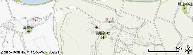 大分県中津市伊藤田245周辺の地図
