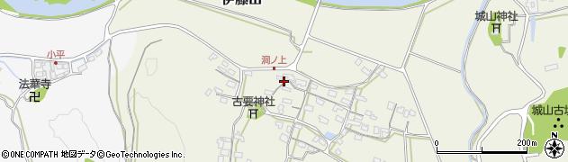 大分県中津市伊藤田233周辺の地図