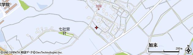 大分県中津市加来719周辺の地図