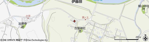 大分県中津市伊藤田246周辺の地図