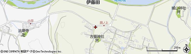 大分県中津市伊藤田239周辺の地図