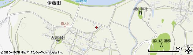 大分県中津市伊藤田966周辺の地図