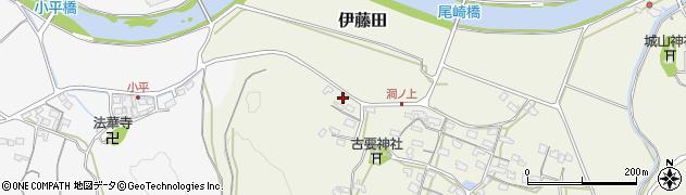 大分県中津市伊藤田248周辺の地図