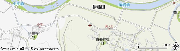 大分県中津市伊藤田249周辺の地図