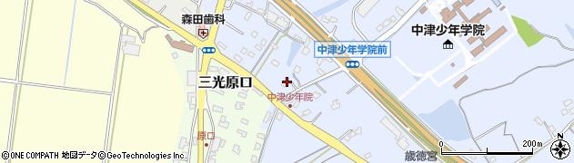 大分県中津市加来2236周辺の地図