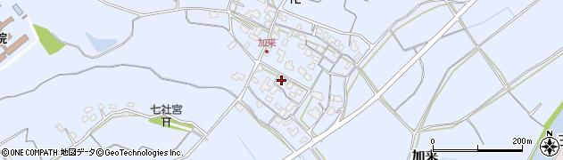 大分県中津市加来707周辺の地図