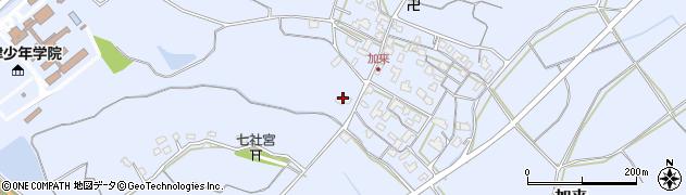 大分県中津市加来859周辺の地図