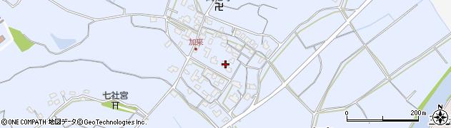 大分県中津市加来688周辺の地図