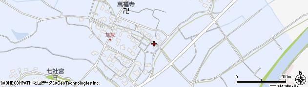 大分県中津市加来663周辺の地図