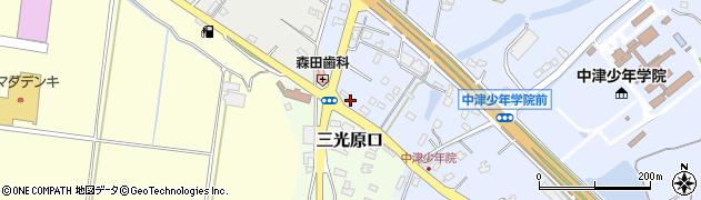 大分県中津市加来2262周辺の地図