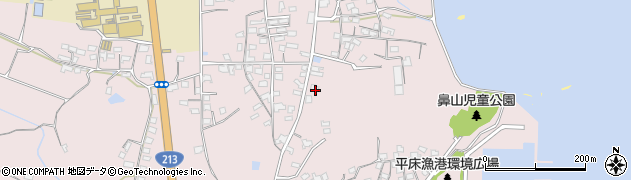 大分県国東市国東町鶴川1104周辺の地図