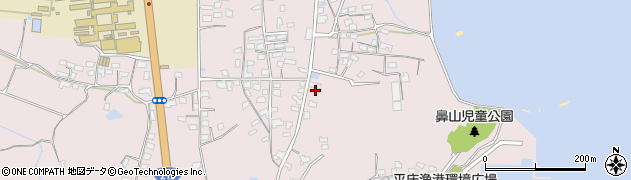 大分県国東市国東町鶴川1101周辺の地図