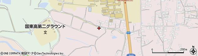 大分県国東市国東町鶴川2496周辺の地図