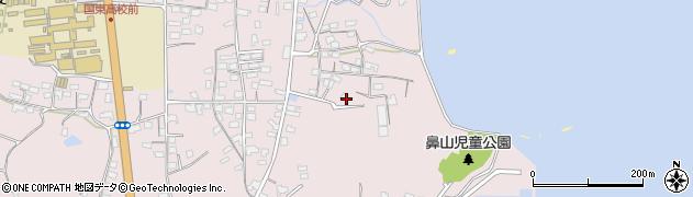 大分県国東市国東町鶴川864周辺の地図