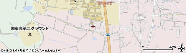 大分県国東市国東町鶴川2010周辺の地図