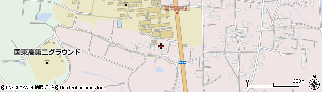 大分県国東市国東町鶴川2012周辺の地図